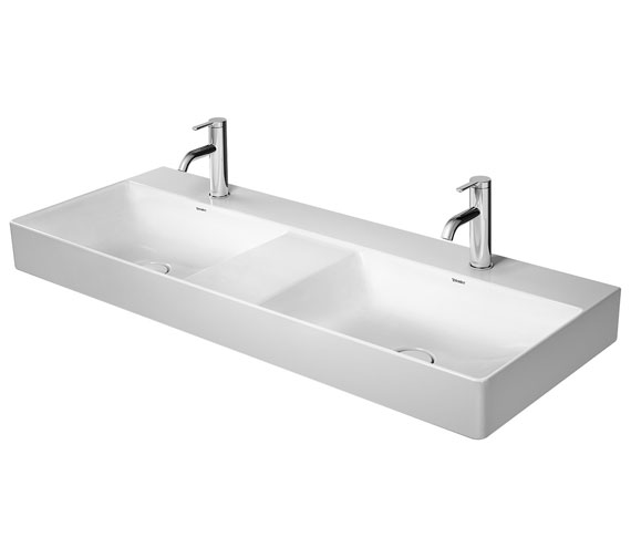 Duravit DuraSquare Double 1200mm Furniture Washbasin Ground