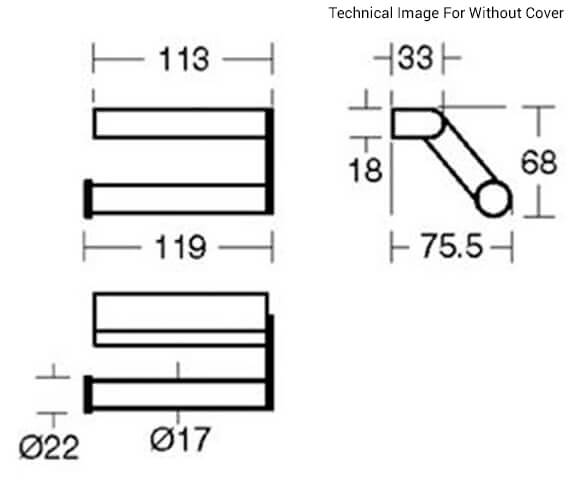 Technical drawing QS-V101073 / N1381AA