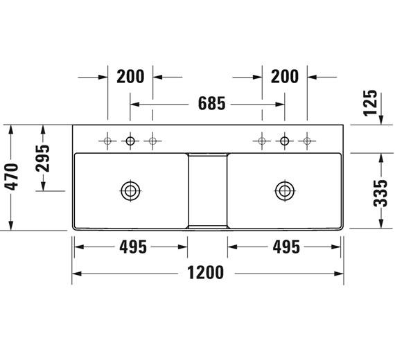 Technical drawing QS-V100743 / 2353120079