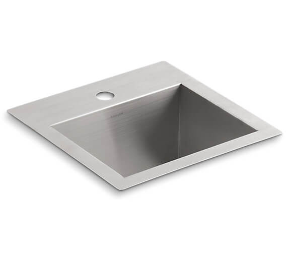 Kohler Vault Inset Or Under Mount Kitchen Sink With 1 Tap Hole