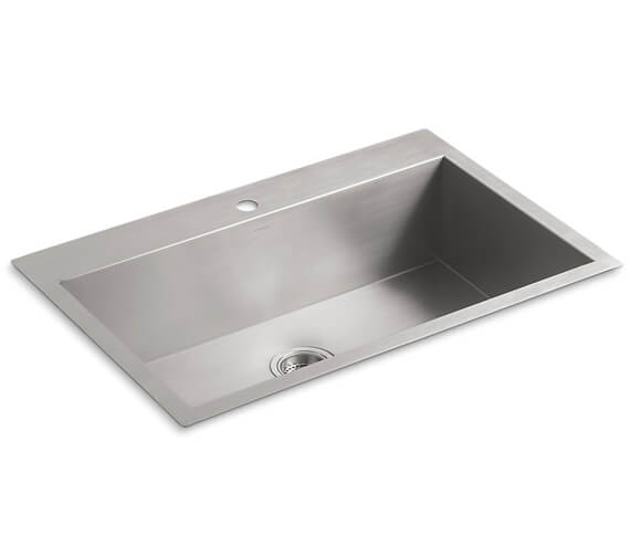 Additional image of Kohler Vault Inset Or Under Mount Kitchen Sink With 1 Tap Hole