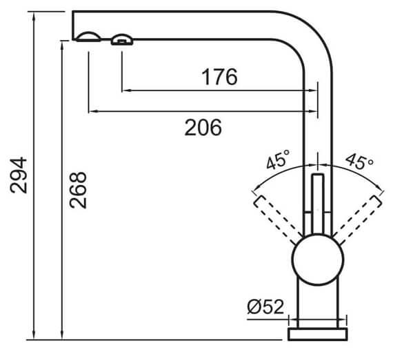 Technical drawing QS-V102351 / HY2CP