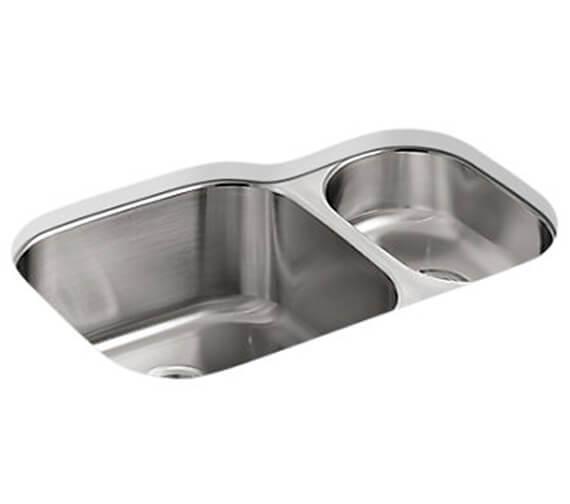 Kohler Icerock 781mm Stainless Steel 1.5 Bowl Under Mount Sink