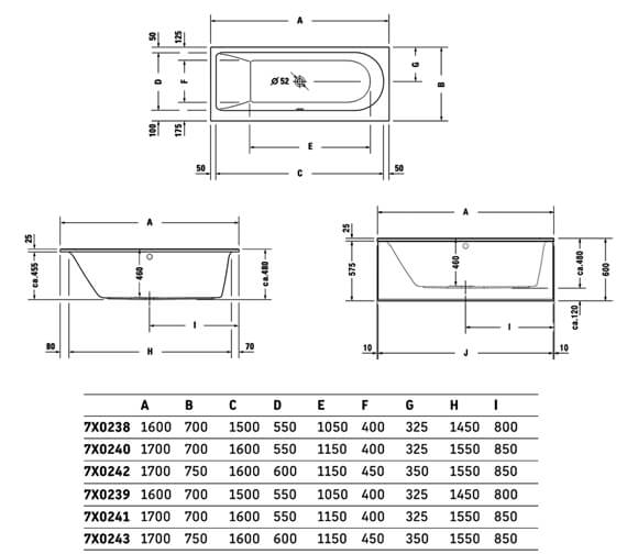 Technical drawing QS-V83468 / 760238000JS1000