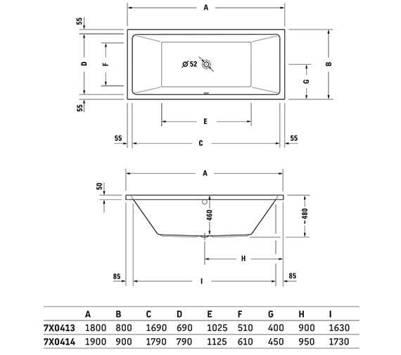 Technical drawing QS-V33578 / 700421000000000