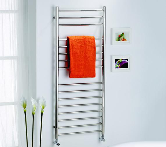 Kartell K-Rad Orlando Straight 600mm Wide Heated Towel Rail