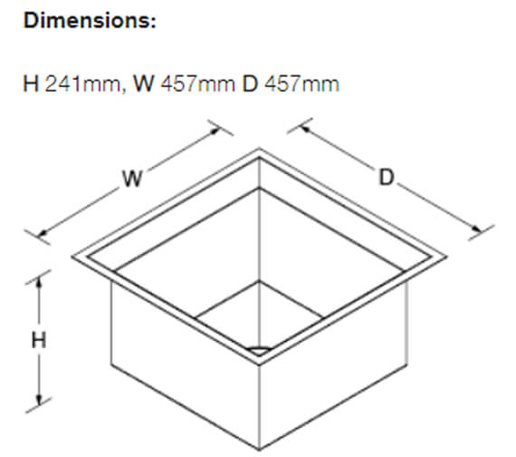Technical drawing QS-V100188 / 3391W