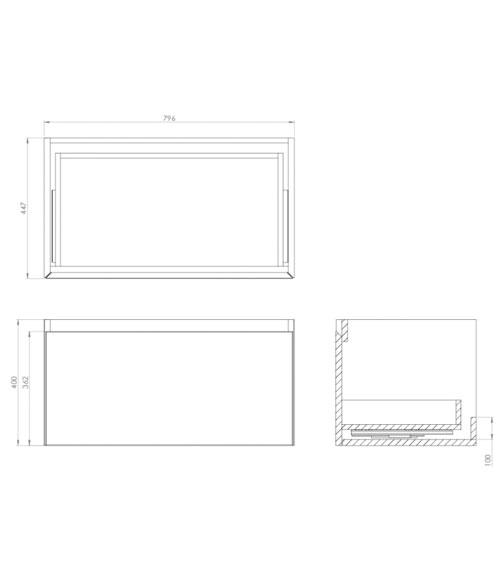 Technical drawing QS-V102031 / QU060W.W