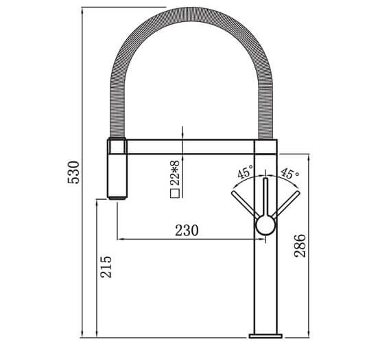 Technical drawing QS-V102354 / JO2CP