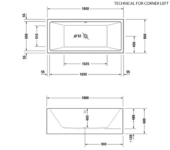 Technical drawing QS-V33581 / 700415000000000