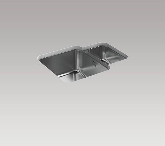 Kohler Hone 595mm 1.5 Bowl Under Mount Sink
