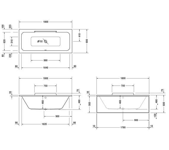 Technical drawing QS-V14475 / 760298000JS1000