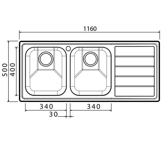 Technical drawing QS-V102358 / LI200L