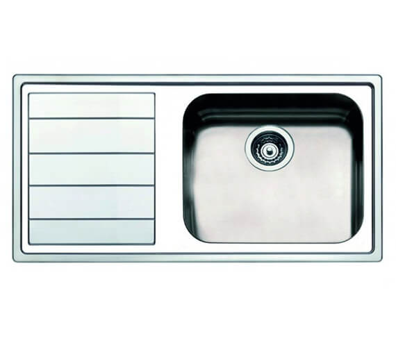 Clearwater Linear 1000 x 500mm Large Bowl And Drainer