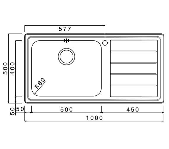 Technical drawing QS-V102359 / LIB100L