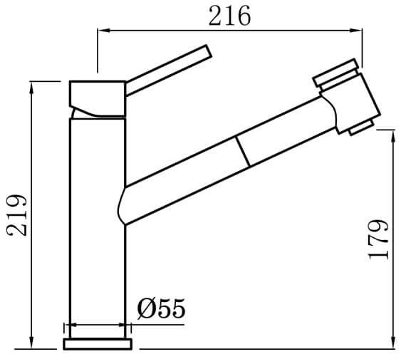 Technical drawing QS-V102356 / LA2CP