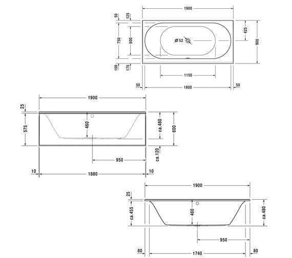 Technical drawing QS-V59293 / 700244000000000