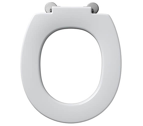 Armitage Shanks Contour 21 White Seat With Retaining Buffers - Heavy-Duty