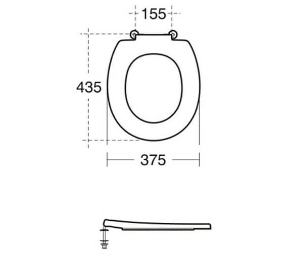 Technical drawing QS-V102002 / S406601