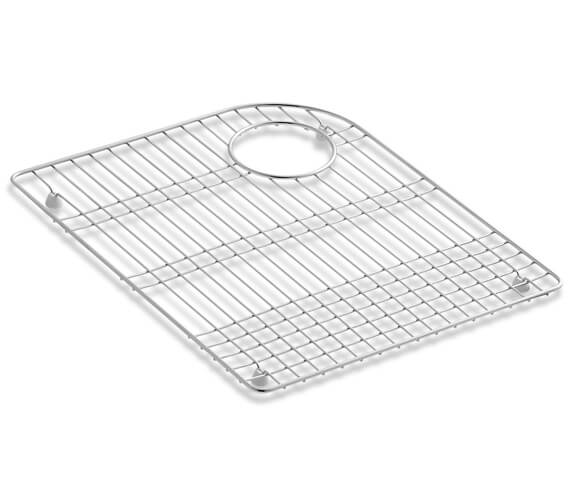Kohler Bottom Bowl Rack Left For Executive Chef Kitchen Sink