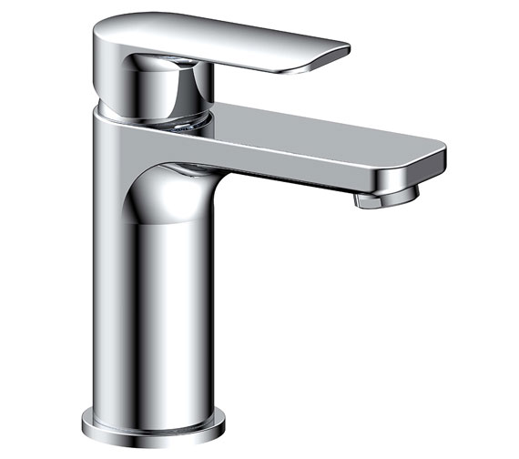 Additional image of Pura Suburb Basin Mixer Tap With Clicker Waste