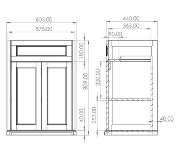 Technical drawing QS-V102453 / SO060F.CW
