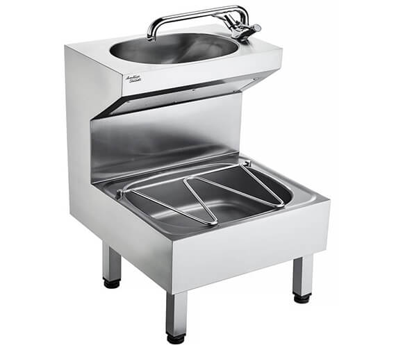Armitage Shanks Janitorial Sink Stainless Steel Unit
