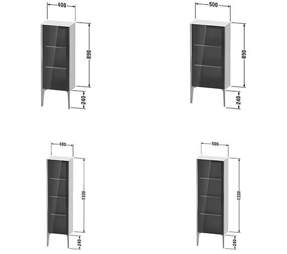 Technical drawing QS-V89510 / XV1360LB118