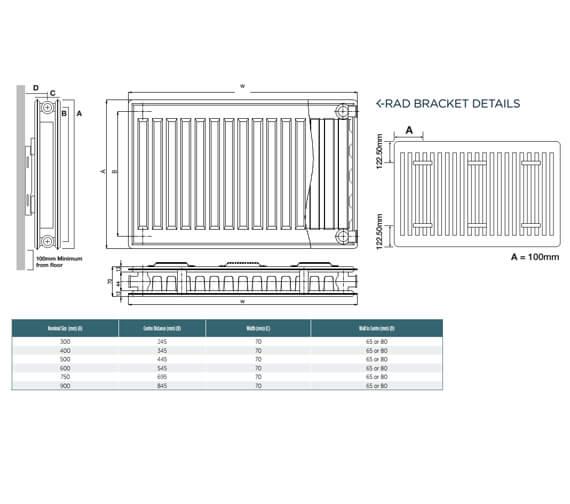 Technical drawing QS-V99289 / P604K