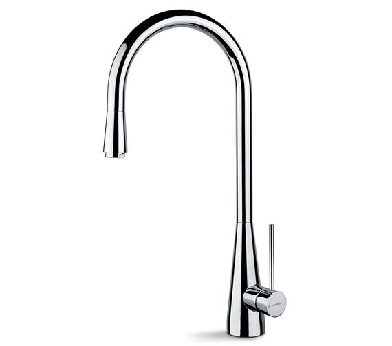 Newform Ycon Single Lever Kitchen Sink Mixer Tap