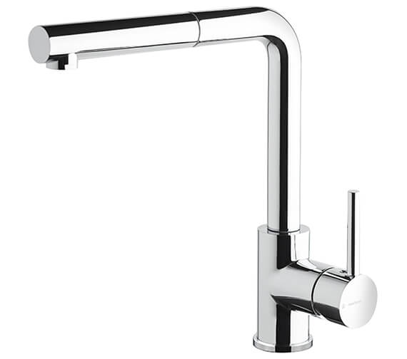 Newform Real Single Lever Deck Mounted Kitchen Sink Mixer Tap