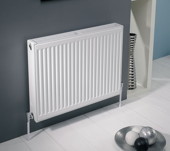 Kartell K-Rad Kompact Horizontal Double Panel Double Convector Radiator 500mm High