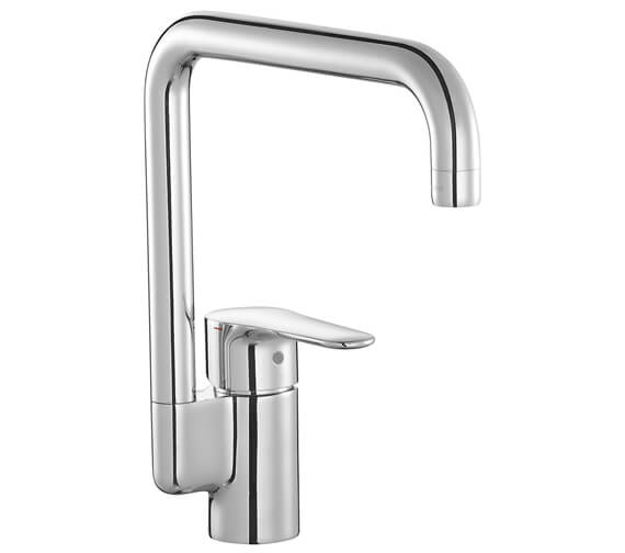 Kohler July Single Lever Kitchen Mixer Tap Polished Chrome