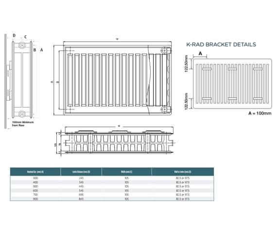 Technical drawing QS-V99284 / D604K