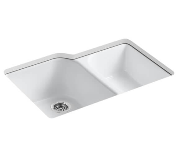 Kohler Executive Chef Under Mount Sink 838mm With 4 Tap Hole