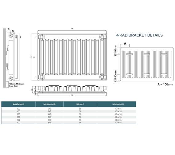 Technical drawing QS-V99296 / S704K