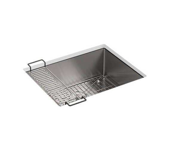 Kohler Strive Under Mount Sink 610mm With No Tap Hole