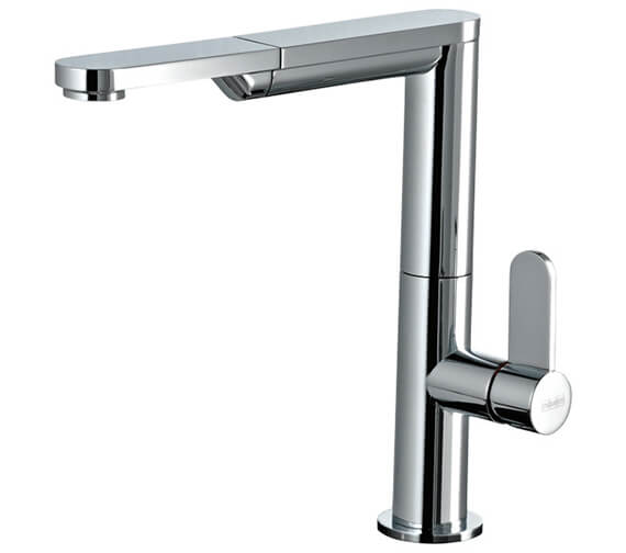 Gessi Emporio 245mm High Chrome Pull Out Kitchen Mixer Tap