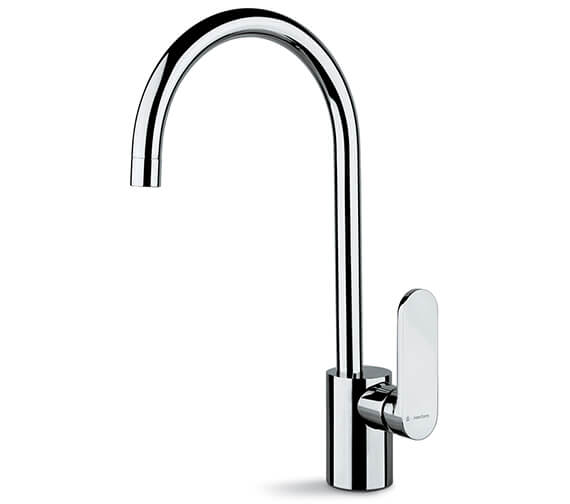 Newform X-Light Single Lever One Hole Kitchen Sink Mixer Tap