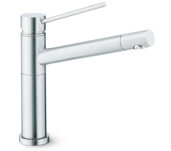 Newform X-Trend Kitchen Sink Mixer Tap With Swivel Spout And Outlet