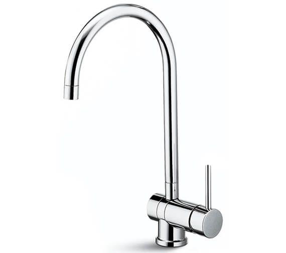 Newform X-T Single Lever Kitchen Sink Mixer Tap With Round Spout