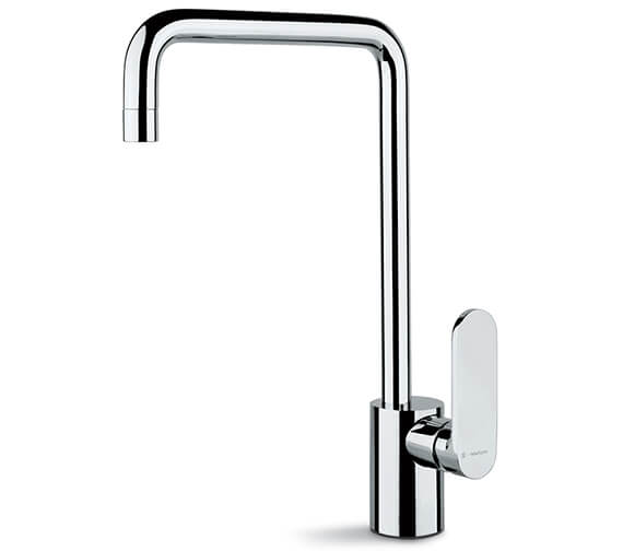 Newform X-Light Single Lever Kitchen Sink Mixer Tap With Squared Swivel Spout
