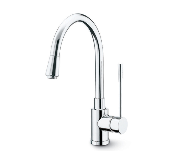 Newform X-Trend Kitchen Sink Mixer Tap And Pull Out Hand Shower