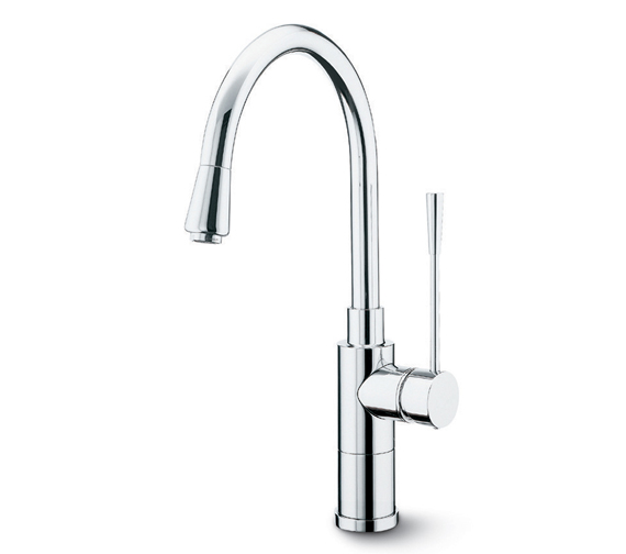 Alternate image of Newform X-Trend Kitchen Sink Mixer Tap And Pull Out Hand Shower