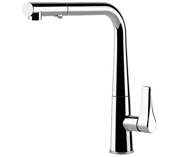 Gessi Emporio Proton 295mm High Pull Out Dual Spray Kitchen Mixer Tap