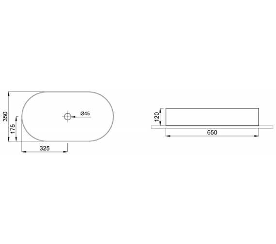 Technical drawing QS-V102458 / 83112