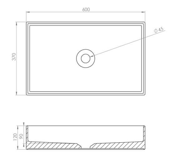 Technical drawing QS-V102459 / 83113