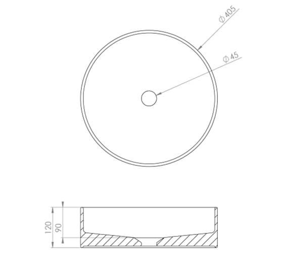 Technical drawing QS-V102460 / 83114