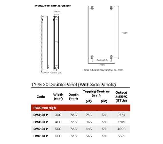 Technical drawing QS-V99310 / DV318FP