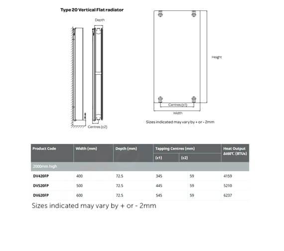 Technical drawing QS-V99311 / DV420FP